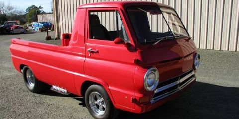 This Little Red Wagon Tribute With A Supercharged Hemi