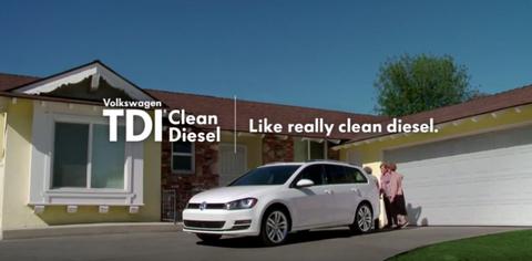 Volkswagen Clean Diesel ad