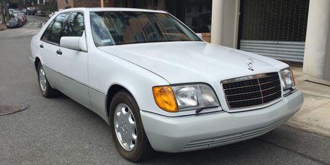 1992 Mercedes 400SE
