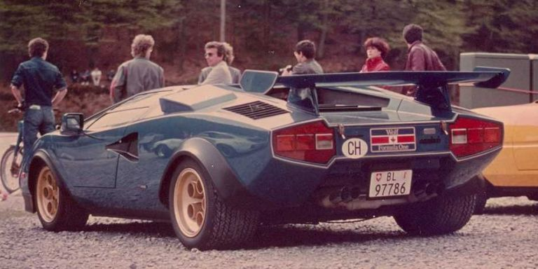 send in the wolf: this special lamborghini countach saved the company
