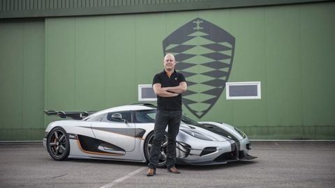 You Need to Hear Christian Von Koenigsegg's Theory of Gravity to Believe It