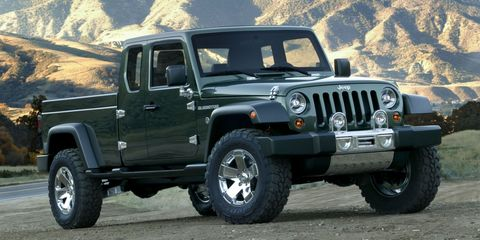 Image Marc Urbano Jeep Started The Wrangler Pickup