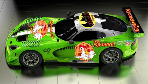 Roscoe's Chicken and Waffles Dodge Viper