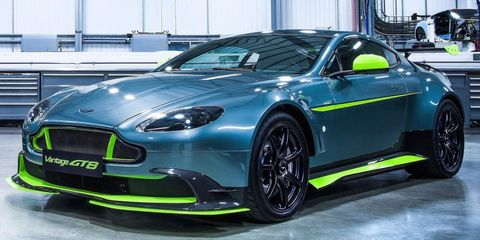 Aston Martin Gt8 >> Aston Martin Vantage Gt8 A Track Ready Super Vantage Just Not For