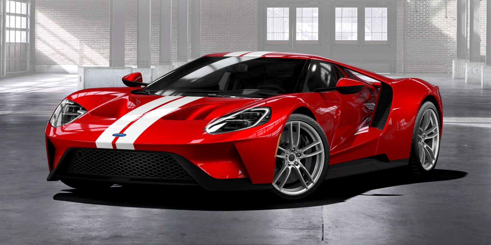 2017 ford gt vs rivals