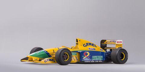 Benetton B191B Michael Schumacher