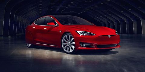 Tesla Model S fender skirts