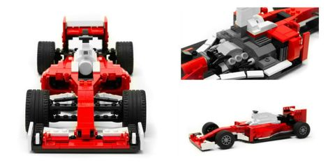Lego Ferrari SF16-H