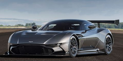 You Can Make The Track Only Aston Martin Vulcan Street Legal With