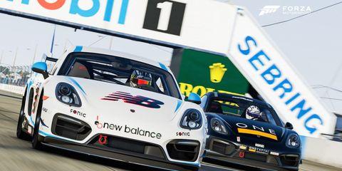 Porsche Cayman Forza 6 CJ Wilson