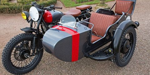 A Four-Seat Ural Motorcycle Is Cooler Than Your Minivan