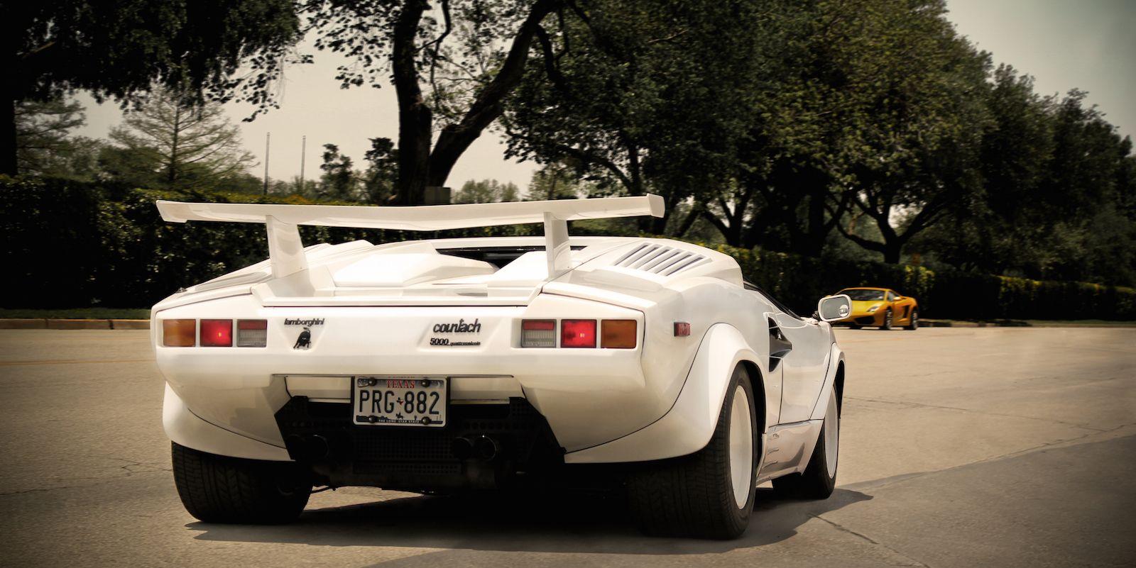 The Lamborghini Countach Sounds Even Better Than It Looks