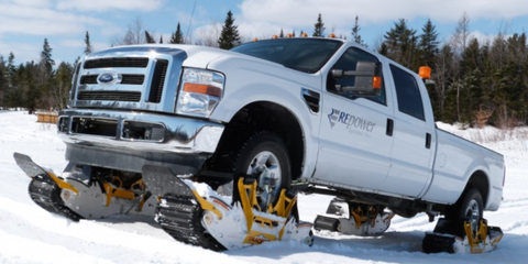 These Snap-On Tank Tracks Make Your 4x4 Invincible, No Tools Necessary