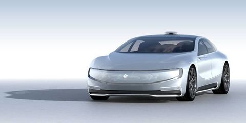 Chinese Company Behind Faraday And Aston Martin Has A Concept Car - Aston martin concept