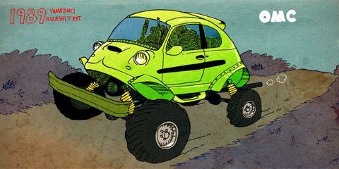 Our Modest Car Collection Yamazaki Kizashi TRA-T