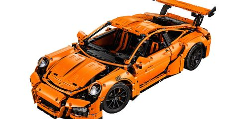 This Porsche 911 GT3 RS Lego Set has 2700 Pieces and Costs $300