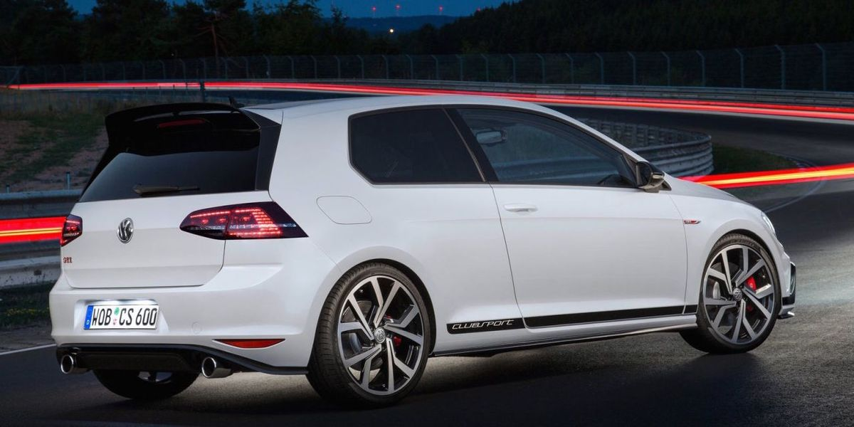 Volkswagen Will Make A 305 Hp Golf Gti Clubsport S
