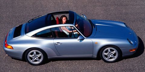 In 1996, The Porsche 911 Targa Was a Strange Mix of New and Old