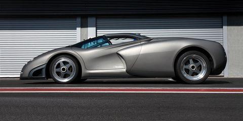 Lamborghini S Forgotten Pregunta Concept Was Really Born From Jets