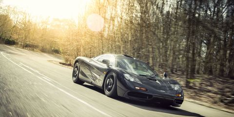 McLaren Is Selling One of the Last F1 Road Cars Built