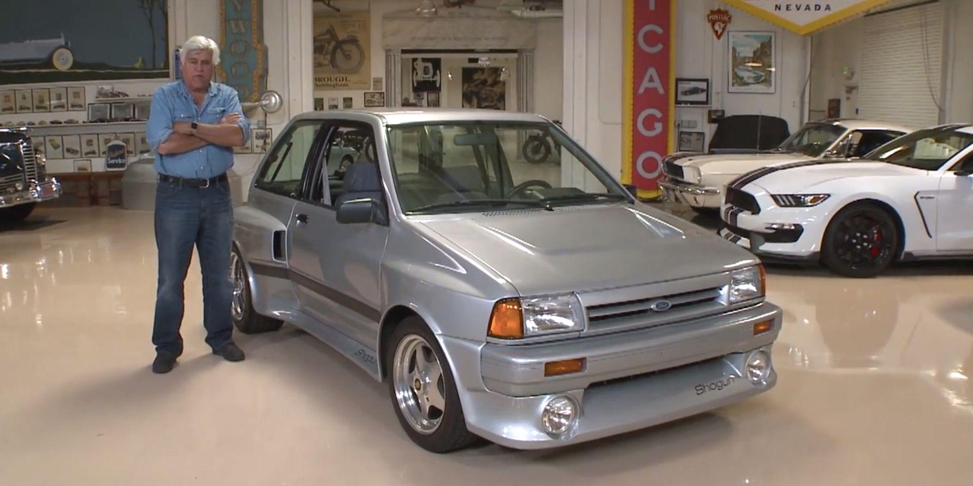 Jay Lenos Garage Leno Drives Ford Festiva Shogun 1461591620