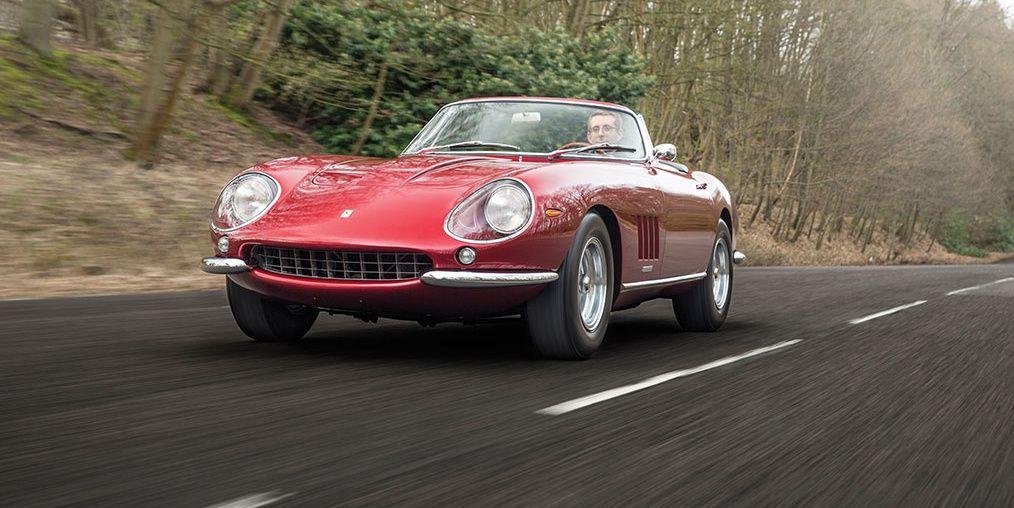 A Ferrari Spider Goes For A Grand Tour