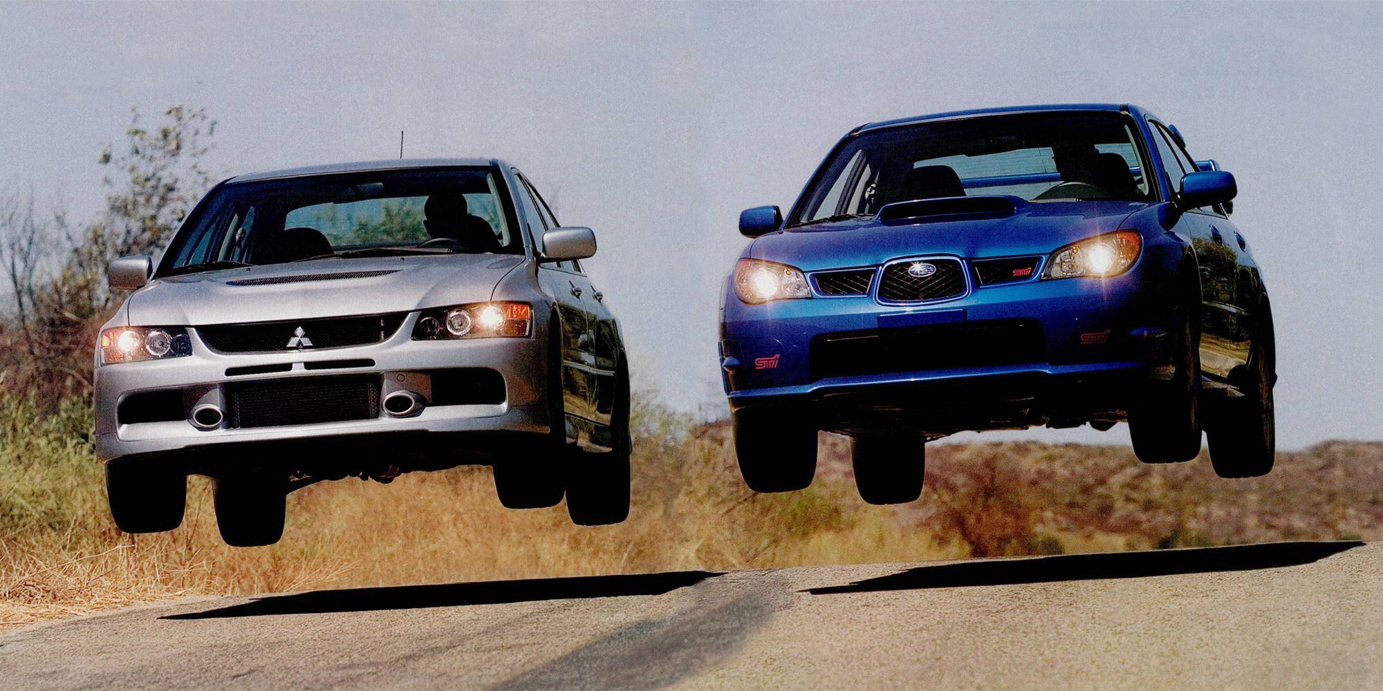 Mitsubishi Evo IX MR vs Subaru Impreza WRX STI: Which Is Better?
