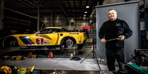 Meet the Man Behind the Scenes of the Corvette's Racing Success