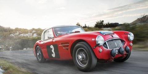 e6d35bfb260 Buy This 1961 Austin-Healey 3000 Rally Car and Go Straight to a ...