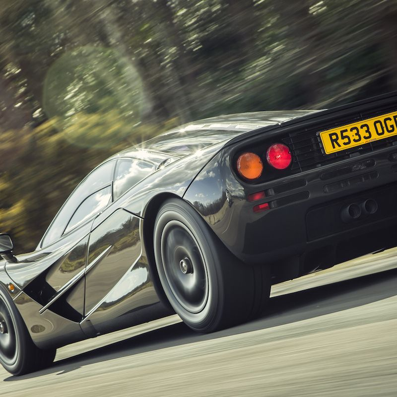 """<p>When we <a href=""""http://www.roadandtrack.com/new-cars/first-drives/reviews/a5339/performance-tests-first-drives-flashback-1994-mclaren-f1/"""" target=""""_blank"""">first reviewed the F1</a> in November 1994 we said, """"It can outperform every other road car by a large margin. But there is much more to it. The McLaren F1 materializes the dream of a single man.  """"</p>"""