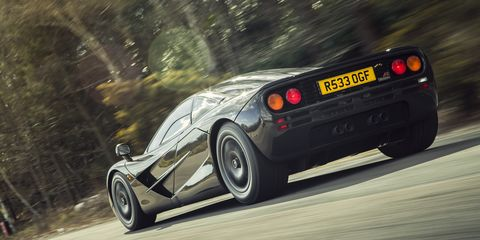 """When we first reviewed the F1 in November 1994 we said, """"It can outperform every other road car by a large margin. But there is much more to it. The McLaren F1 materializes the dream of a single man.  """""""