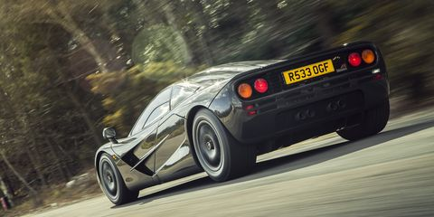 "When we first reviewed the F1 in November 1994 we said, ""It can outperform every other road car by a large margin. But there is much more to it. The McLaren F1 materializes the dream of a single man.  """
