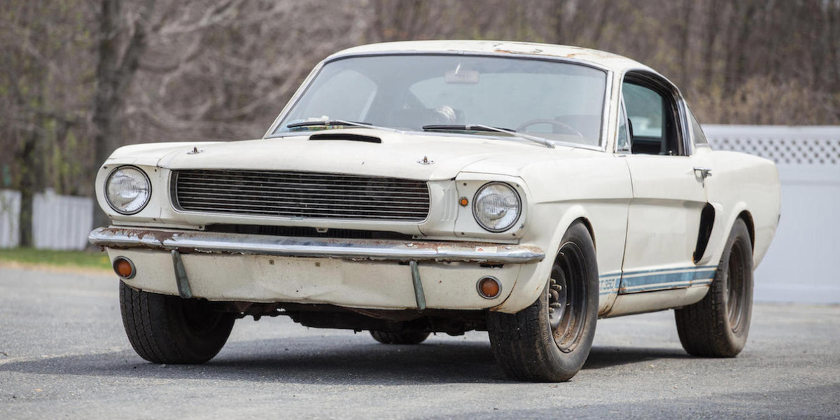 This Barn-Find 1966 Shelby GT350 Is Gorgeous, Yours for $100,000