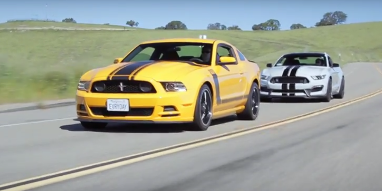 Can The Mustang Boss 302 Hold Up Against New Shelby Gt350