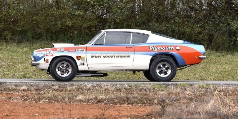 Just A Car Guy: King 'Cuda, 1968 Hurst Super Stock ... |Cuda Stock Car