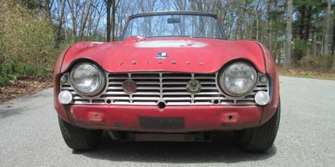 This Ratty Tr4 Is A Triumph In Appearances