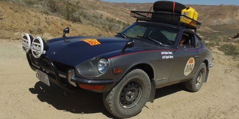 this off road datsun 240z was built to dominate the peking to paris