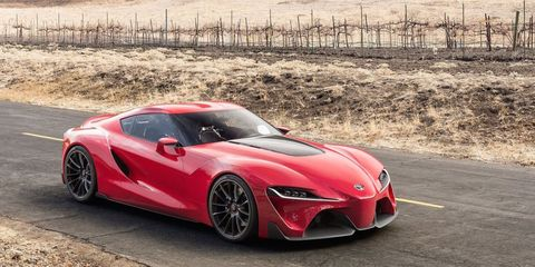 Bmw Toyota Sports Car Collaboration Starts Production In 2018