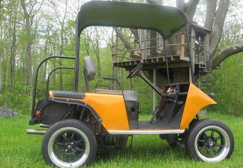 GSX R Powered Golf Cart 115 Horsepower For Sale