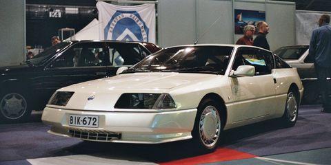 Finland Classic Motorshow Alpine
