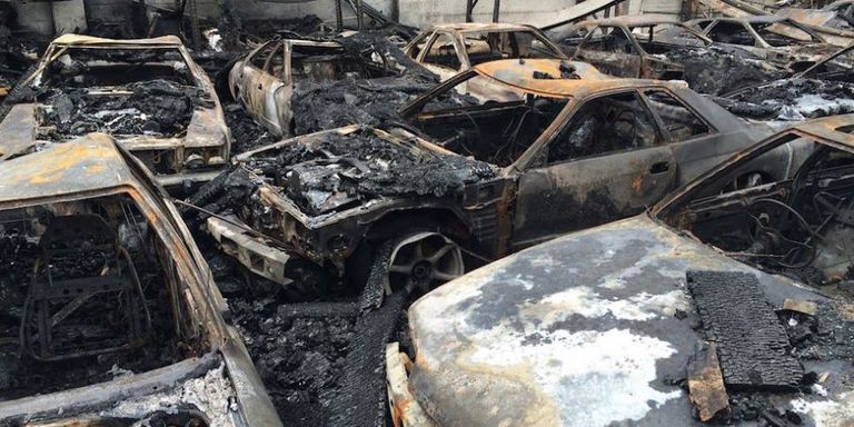 Dealer Alleges Fire That Destroyed Rare JDM Cars Caused by