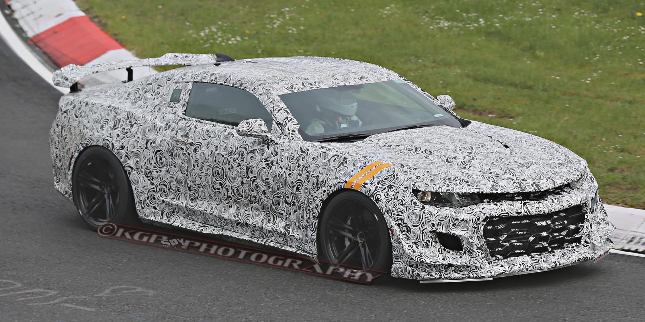 Even More Video of the 2017 Camaro Z28 Thundering Around the Nurburgring