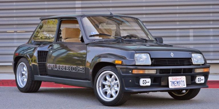 be a hero and buy this renault 5 turbo 2 the mid engine rally hatch of your dreams. Black Bedroom Furniture Sets. Home Design Ideas