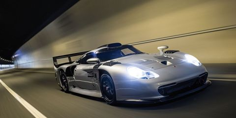 This Road-Legal 1997 Porsche 911 GT1 Evolution Racer Sold for $3.1 Million