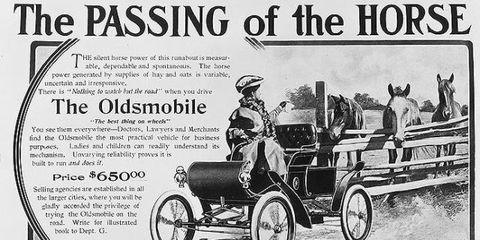 Oldsmobile ad 1901