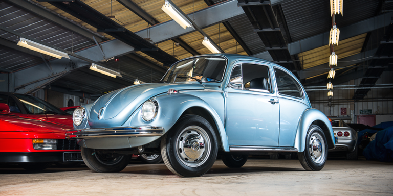 You can buy a 1974 volkswagen beetle with just 56 miles on it silverstone auctions publicscrutiny Images