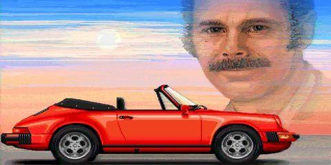 Pixel Porsche Jim Sachs