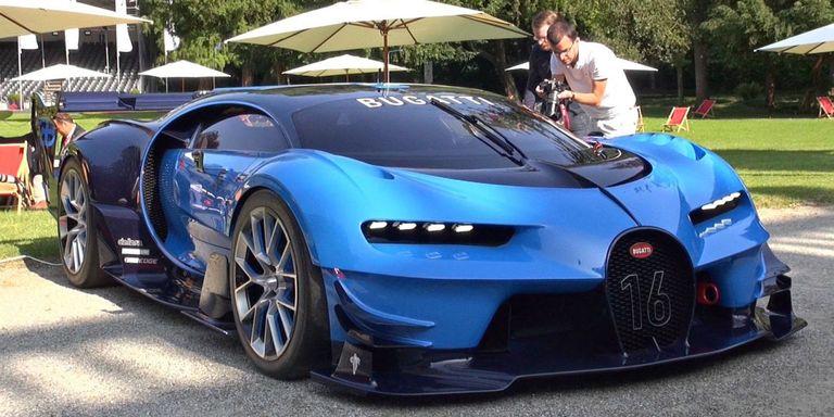 Car Auction Apps >> Video: Bugatti Vision Gran Turismo - Bugatti Concept Car