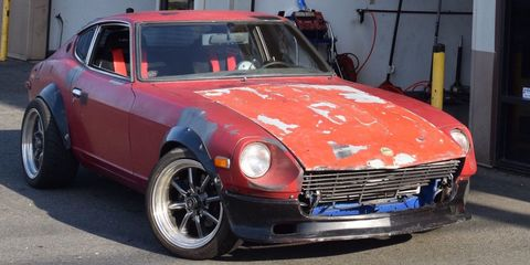 This 400-HP 2JZ-Swapped Datsun 260Z Is Gloriously Sketchy