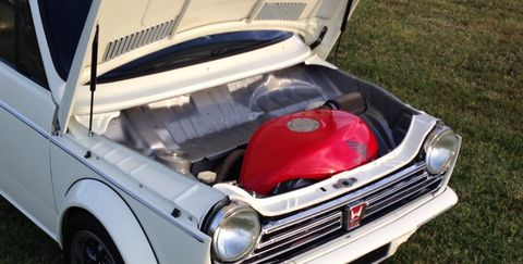 Buy This 800cc Motorcycle Powered Honda N600 To Destroy Autocrosses